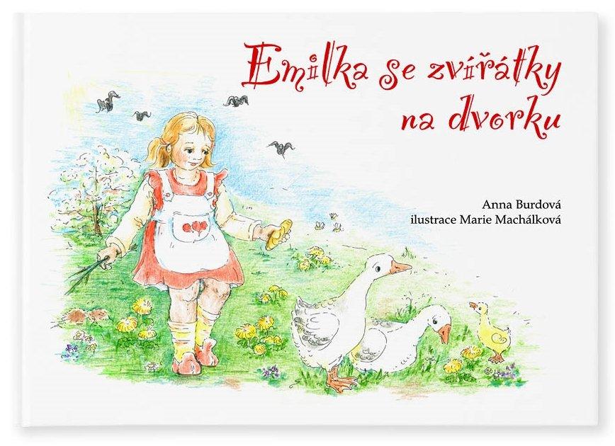 personalizovaná knížka - Emilka