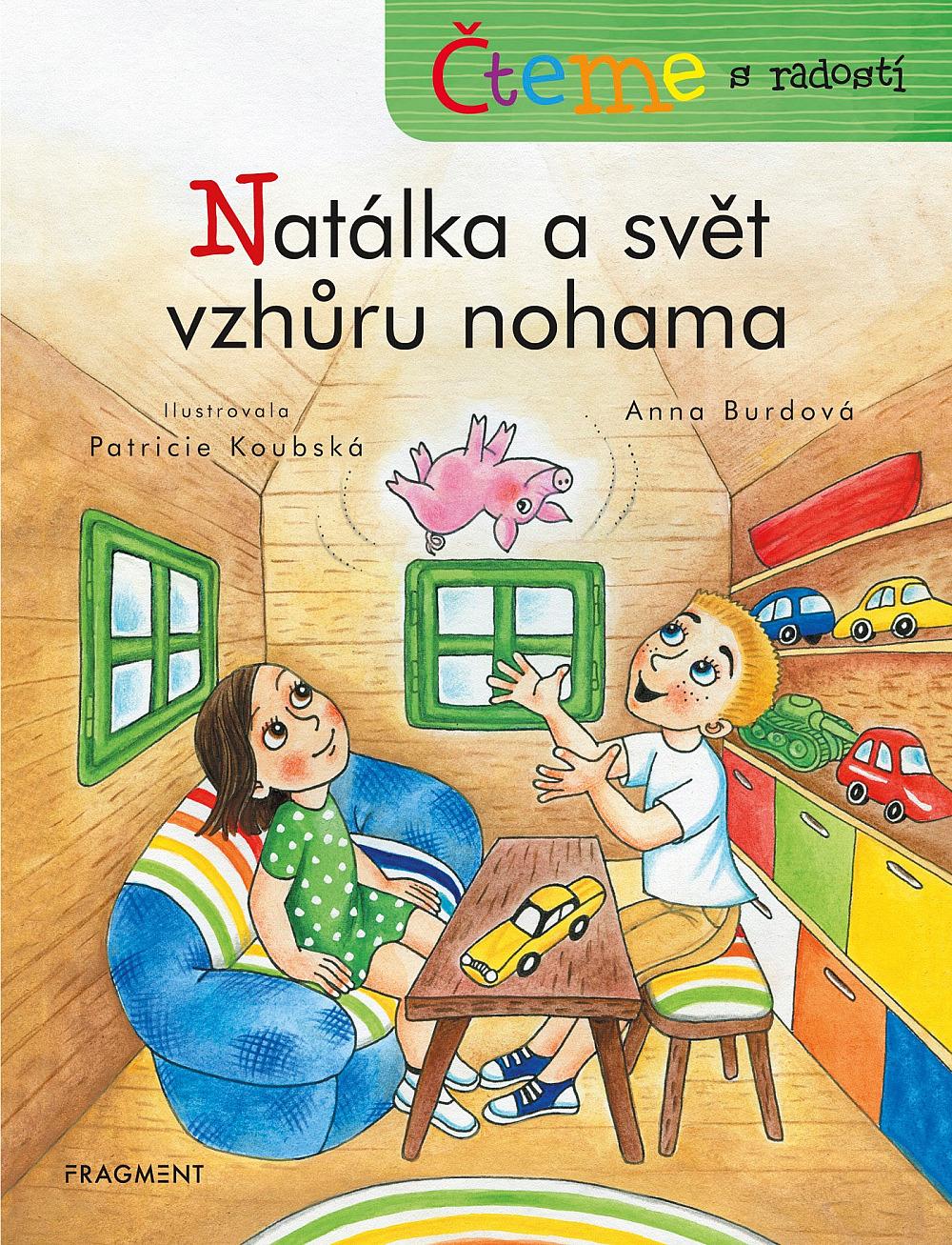 knížka pro děti Natálka a svět vzhůru nohama